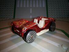 Buggy dune majorette 1/55 nº258 rouge roue spirale