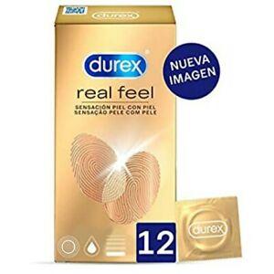 Durex Preservativos Sensitivos Real Feel  12 condones