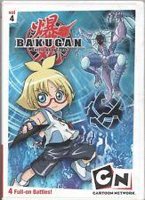 Movie DVD - BAKUGAN VOLUME 4 - Pre-Owned - Cartoon Network