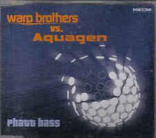 Warp brothers VS Aquagen - Phatt Bass cd maxi single 6 tracks