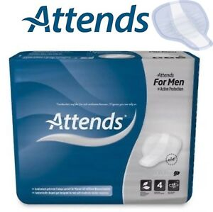 Attends For Men Level 4 Or Shield 4, Pack Of 14 , Incontinence Pads 205976