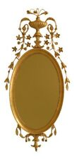 45429Ec: Friedman Brothers Adam Style Gold Framed Mirror ~ New