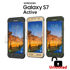 Samsung Galaxy S7 ACTIVE 32GB  GOLD GRAY GREEN (SM-G891A GSM Unlocked) SB