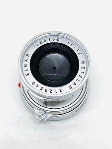 Leica Elmar 50mm f/2.8 Collapsible M Mount Lens Leitz Wetzlar