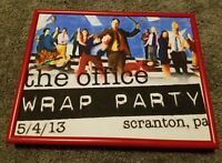 Framed THE OFFICE NBC WRAP PARTY 5/4/13 8X10 Print Limited Edition 2 OF 25