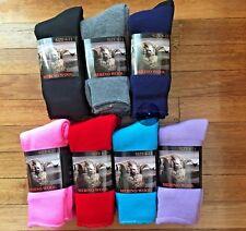 3 Pairs size 6-11 Top Quality 90% Merino Wool SUPER SOFT WARM Dress Work Socks