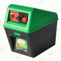 elettrificatore B200 a batteria a secco 9 V sistemi recinzione allevamento