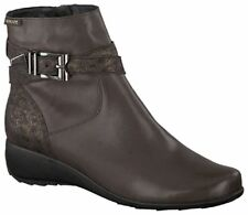 Ladies Casual Ankle Boot Mephisto Stacy Dark Brown UK Size 5