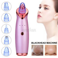 Electric Blackhead Remover Vacuum Comedone Suction Face Pore Cleaner Machine USB