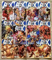 Avengers vs X-Men Complete Set 0-12 +VS 6 Bendis Aaron Hickman Brubabker