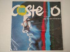 "ELVIS COSTELLO & ATTRACTIONS 12"" GREEN SHIRT 1985 F-BEAT ZT 40086 NEW UK IMPORT"
