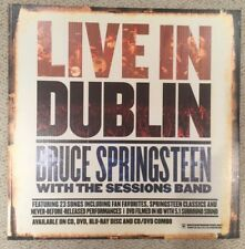 Bruce Springsteen Live in Dublin 2007 Limited 24x24 Promo Cardboard Display