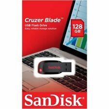 Genuine SanDisk Cruzer Blade 128GB USB 2.0 Memory Stick USB Flash Pen Drive