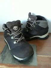 TIMBERLAND BOYS LEATHER BOOTS Size 8 UK 25.5 eu WATERPROOF FAB CONDITION