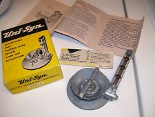 Vintage UNISYN nos Carburetor tuneup auto gm ford chevy rat hot rod tool porsche
