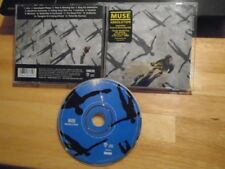 RARE PROMO Muse CD Absolution rock prog space brit HYSTERIA Time is Running Out