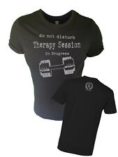 Iron Gods Therapy Session Workout T-Shirt Muscle Weightlifting Bodybuilding Gym