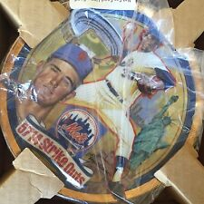 Nolan Ryan 5714 Strike Outs Plate Gold Trim Limited Collection 1993 Hamilton