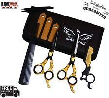 Barber Stainless Steel Best Mustache Beard Scissors Finger Rest Beard 6.5 US