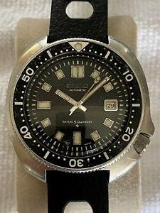 Seiko 6105-8110 Vintage 'Willard' Diver Watch Automatic
