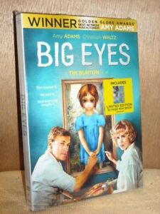 Big Eyes (DVD, 2015) Amy Adams Christoph Waltz Danny Huston