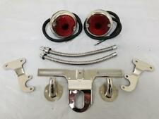 1948 - 1954 Ford Pickup Truck Tail Light Kit + License Plate & Mounting Brackets