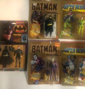 Lot of Five 1989 Batman Action figure - toybiz kenner
