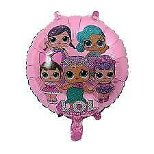 "Lol dolls 18"" pink foil balloon"