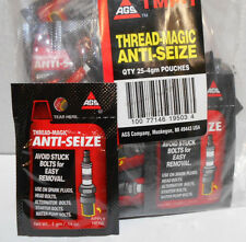 Lot of 25 AGS TMP-1 4GM Thread Magic Anti Seize Single Use Pouches