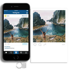 Custom High Quality Postcards Make From Your Instagram Photography Photos x 9pcs