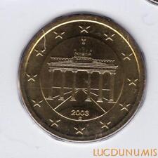 Allemagne 2003 50 centimes G Karlsruhe BU FDC provenant coffret 180000 exemplair