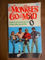 Vintage Monkees Go Mod Paperback book 1967 TV Davey Jones Teenagers