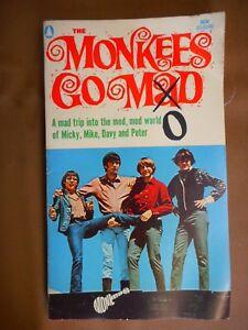 Vintage Monkees Go Mod Paperback book 1967 TV Davey Jones Teenagers