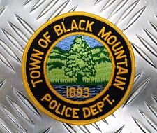 US Town of Black Mountain Police Department 1893 Shoulder Patch / Badge PB15
