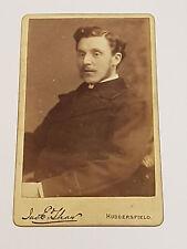 Antique Victorian CDV Card Photograph Of Gentlemen, By Jno. E. Shaw - 1890's