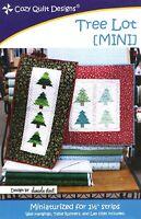 Tree Lot [ MINI ] Pattern - Cozy Quilt Designs