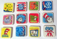 NEW! 24 DR. SEUSS MINI ERASERS PARTY CAT IN THE HAT GREEN EGGS AND HAM HORTON