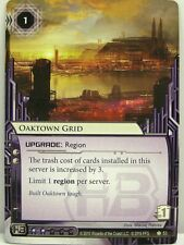 Android Netrunner LCG - 1x Oaktown Grid  #053 - Chrome City