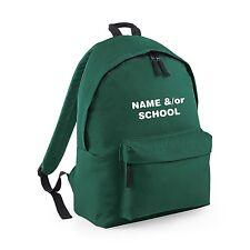 Personalizado Mochila Escolar Niño Infantil Niño TU Niños Nombre