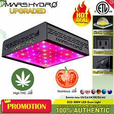 Mars Hydro ECO 300W LED Grow Light Hydroponics Veg Bloom Indoor Plant Lamp IR