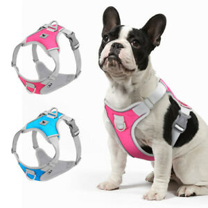 Reflective No Pull Dog Harness Soft Mesh Front Clip Walking Vest Small Large Dog