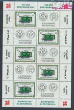 Autriche 2345 Feuille miniature neuf 2001 Jour le Timbre (8910456
