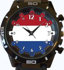 Flag Of Netherland New Gt Series Sports Wrist Watch