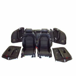 Audi A4 B7 Avant Teilleder Sitzausstattung Sitze Innenausstattung S-Line schwarz