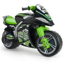 Injusa Kawasaki Gewinner Fuß zum Boden Motorrad Schwarz / Grün