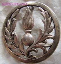 IN12986 - Insigne de béret, Intendance Commissariat, Coinderoux gravé