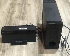 Sony iPod Dock Station ATS-SW10Ti  FM Tuner Plus Wireless Subwoofer SA-WA10R