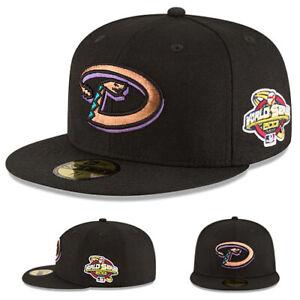 New Era Arizona Diamondbacks Fitted Hat MLB Classic 2001 World Series Vintage