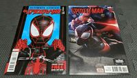 Ultimate Comics Spider-Man #11 & #20 Miles Morales In Handcuffs Lot