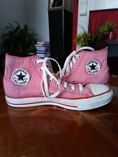 Ladies converse high tops used good condition .UK size 8.5